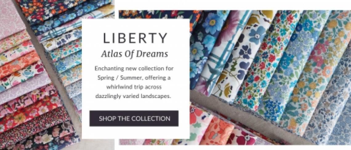 Liberty Atlas of Dreams fabric