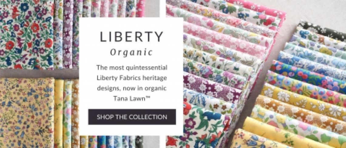 Liberty Organic fabric Cotton Tana Lawn