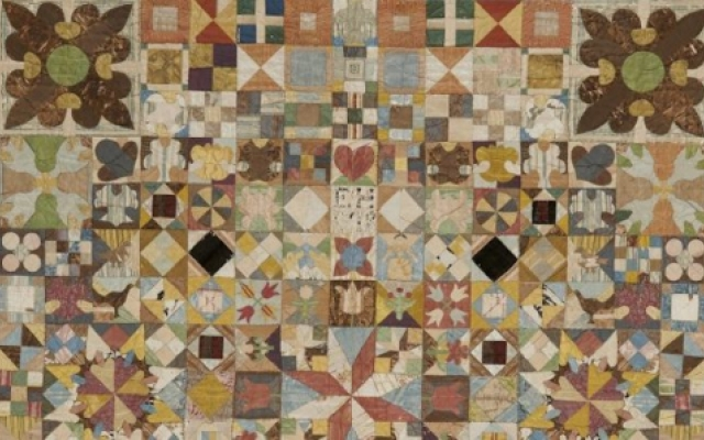 1718 Patchwork Coverlet EPP history