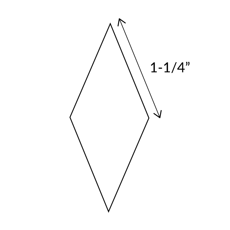 "1.25""-8-Point-Diamond-English-Paper-Pieces"