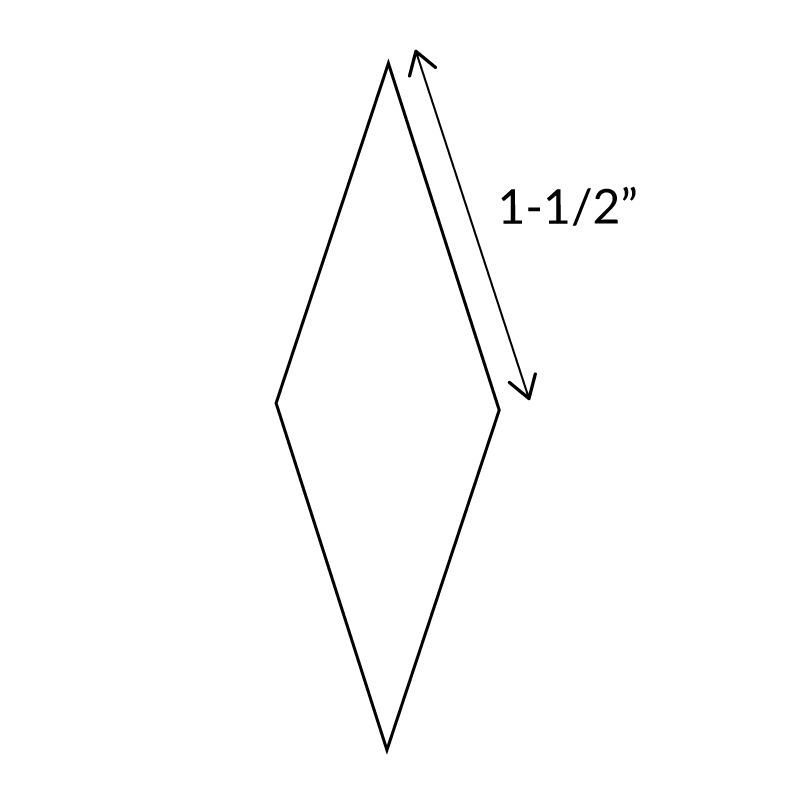 "1-1/2""-10-Point-Diamond-English-Paper-Pieces"