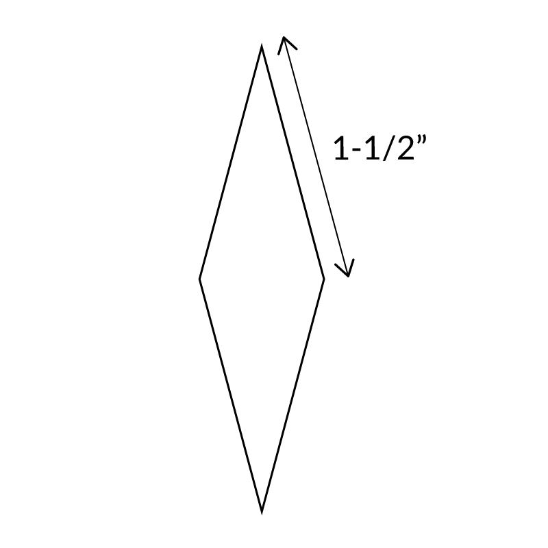 "1-1/2""-12-Point-Diamond-English-Paper-Pieces"