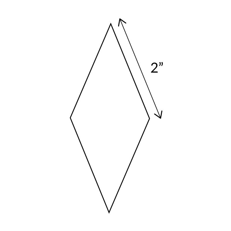 "2""-8-Point-Diamond-English-Paper-Pieces"