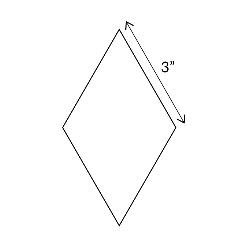 "3""-6-Point-Diamond-English-Paper-Pieces"
