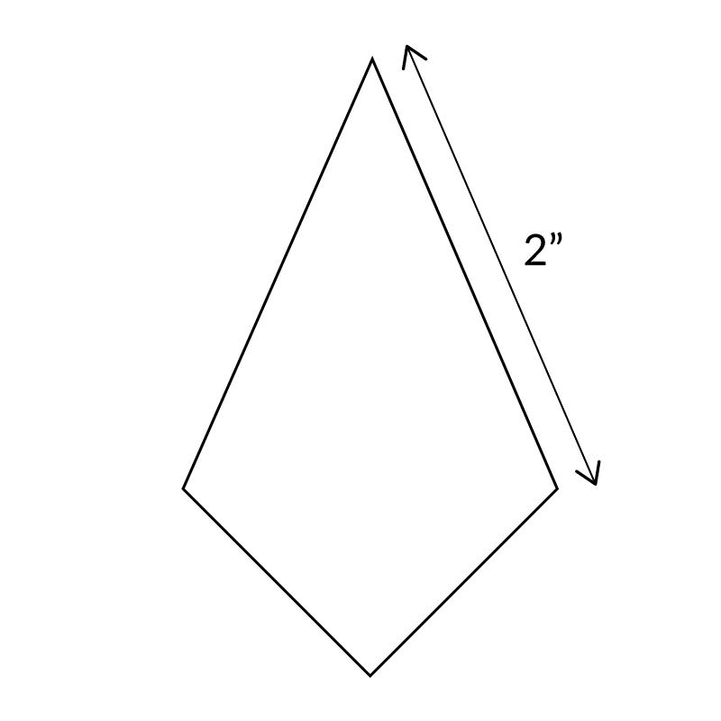 4-POINT-DIAMOND-ENGLISH-PAPER-PIECES