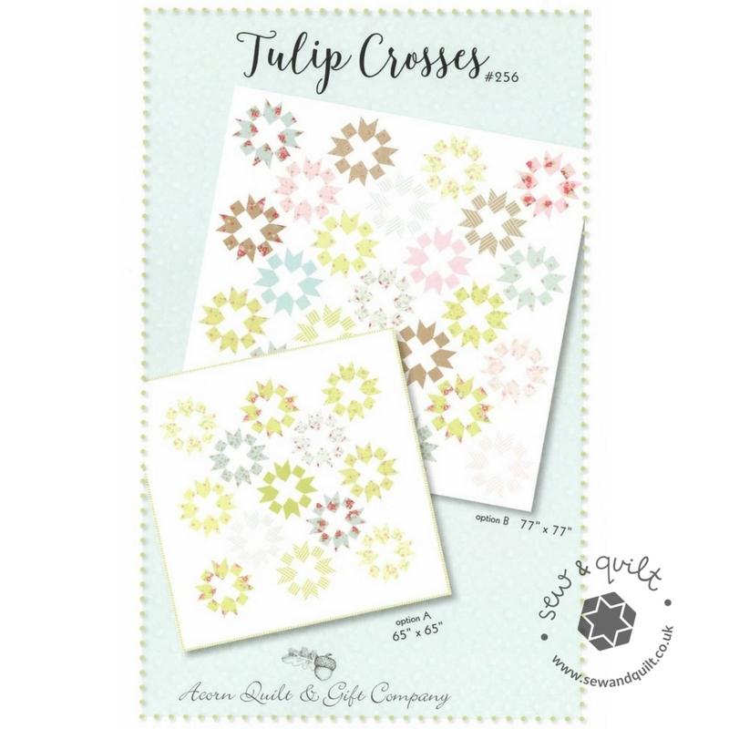 Tulip-Crosses-quilt-pattern