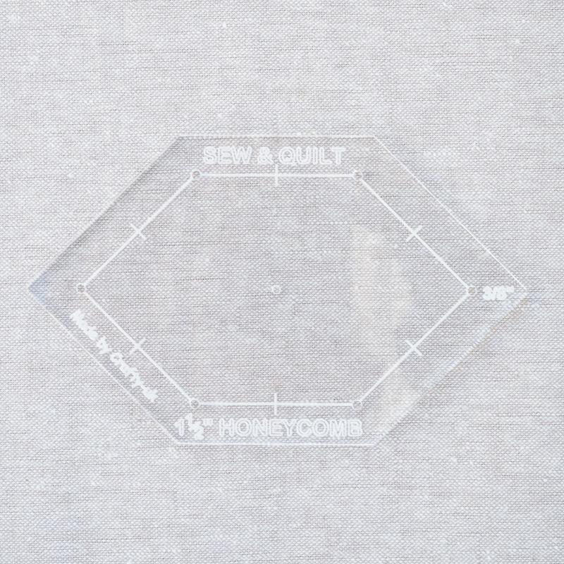 Acrylic-cutting-template-Honeycomb-EPP