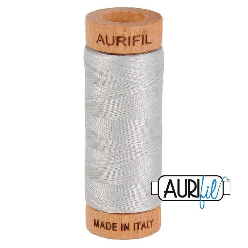 Aurifil-2615-80wt-Thread-Aluminium
