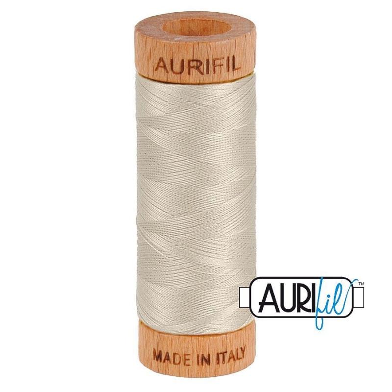 Aurifil 80wt Cotton Thread, Moondust #6725
