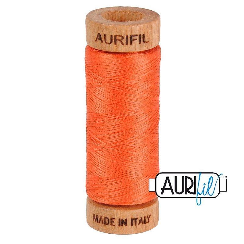 Aurifil 80wt Dusty Orange #1154 - 100% Cotton Thread