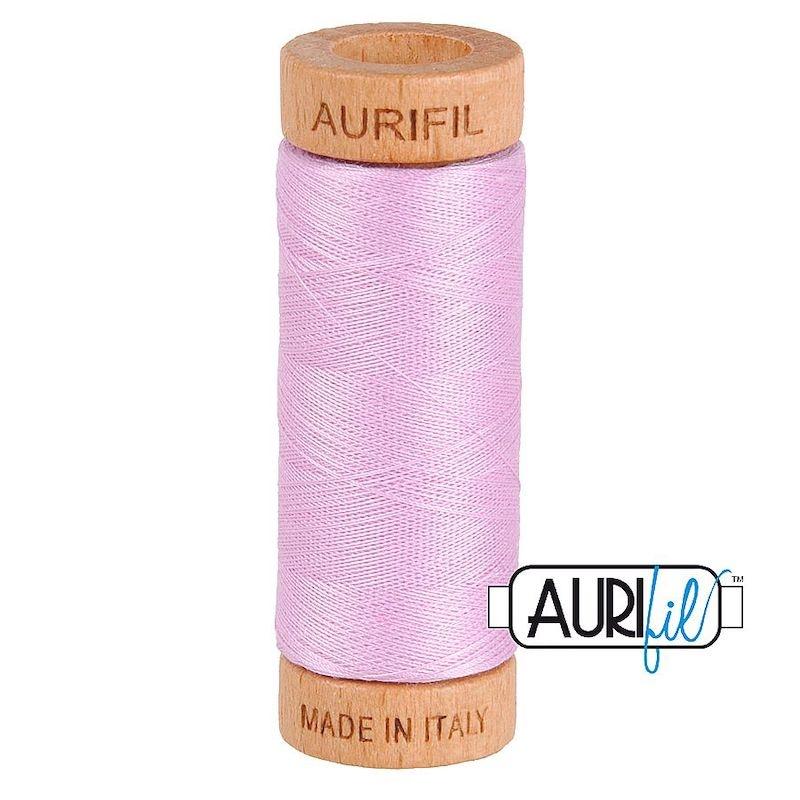 Aurifil 80wt Light Orchid #2515 - 100% Cotton Thread