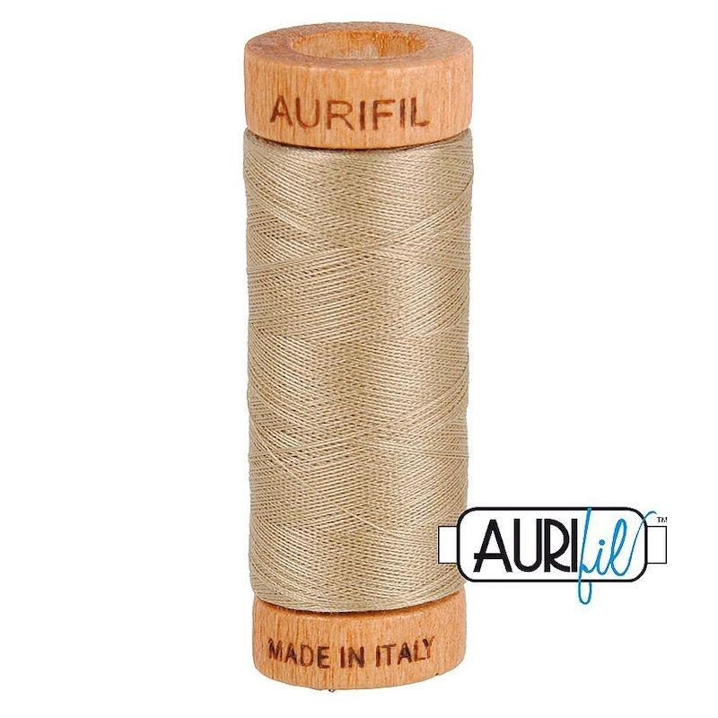 Aurifil 80wt Linen #2325 - 100% Cotton Thread