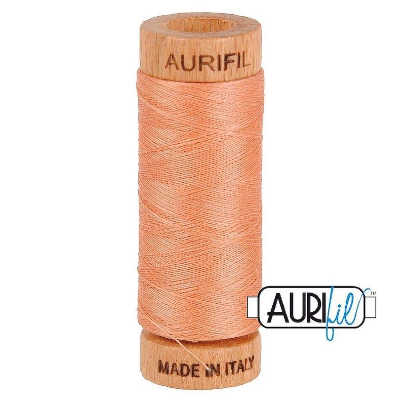 Aurifil 80wt Peach #2215 - 100% Cotton Thread