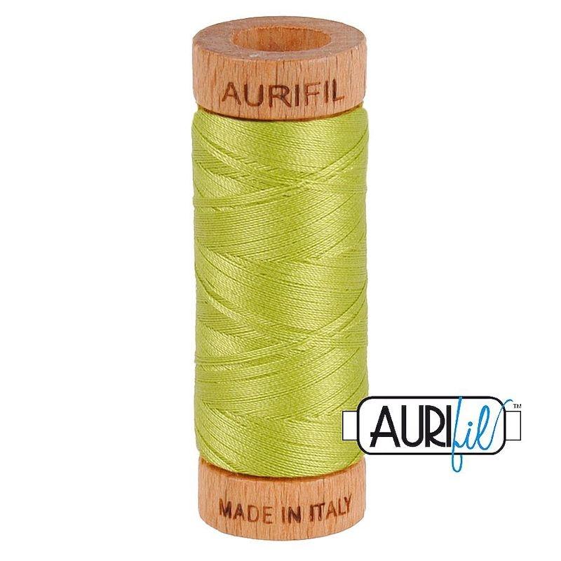 Aurifil 80wt Spring Green #1231 - 100% Cotton Thread