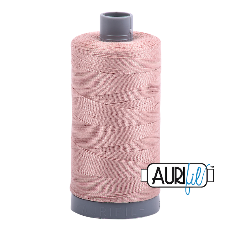 Aurifil 28wt Cotton Thread, Light Chestnut #2375