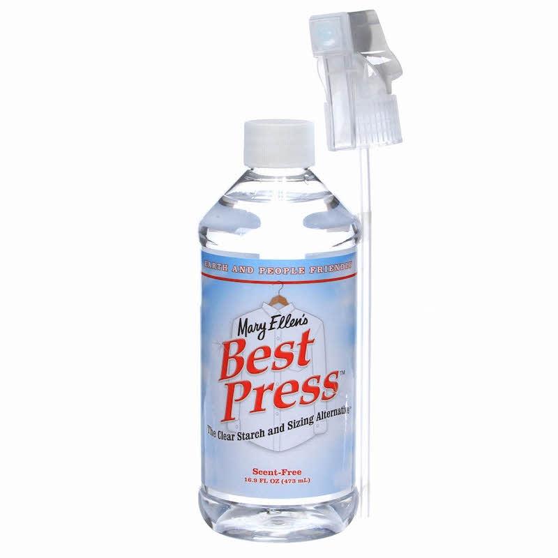 Best Press Spray Starch UK Scent Free 16oz