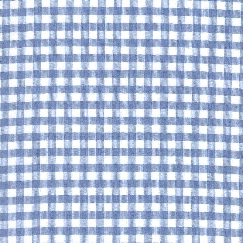 "Carolina Gingham cotton fabric 1/4"" Periwinkle | 16368-61"