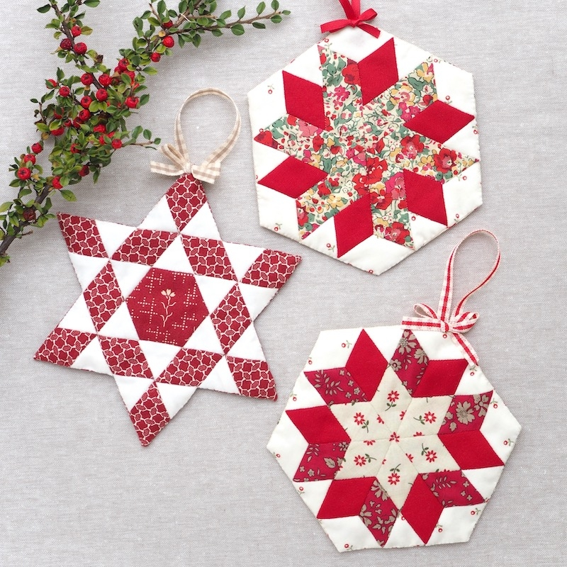 Shining Star Christmas Ornaments Complete sewing Kit