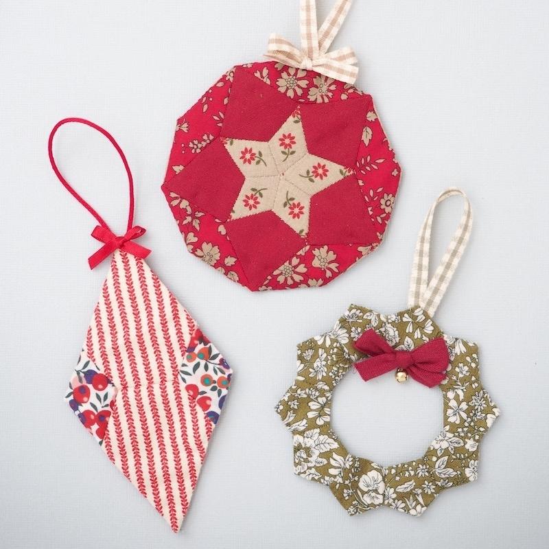 Christmas Tree Trinkets Ornaments Pattern & Kit