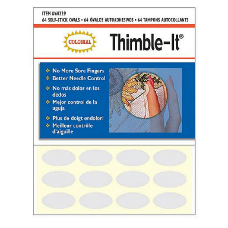 Colonial Thimble-It Finger Pads 64pcs