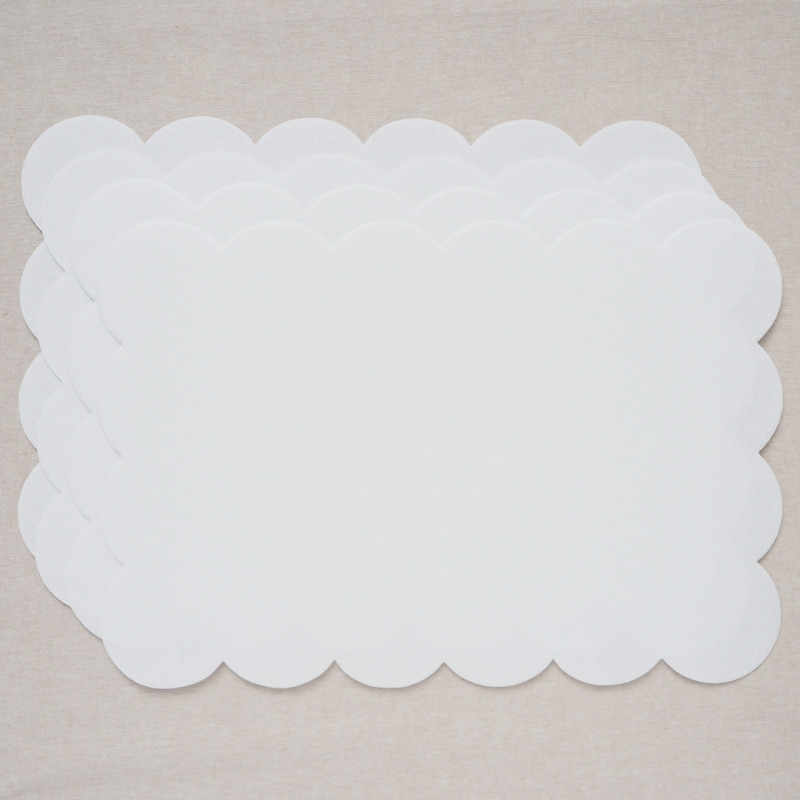 Craf-Tex Fusible Scalloped Placemat 4pk
