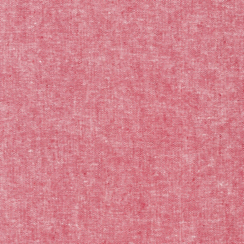Essex Linen Yarn Dyed Red   E064-1308