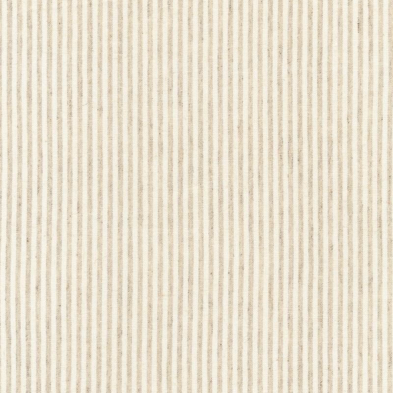 Essex Linen Yarn Dyed Classic Wovens Stripe Natural   17587-14
