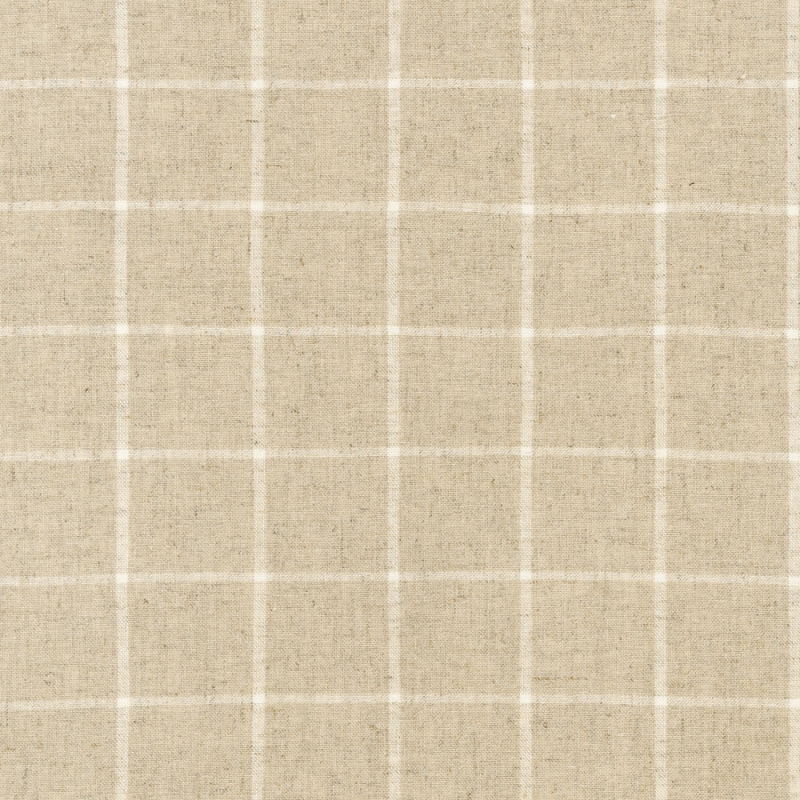 Essex Linen Yarn Dyed Classic Wovens Natural   17585-14