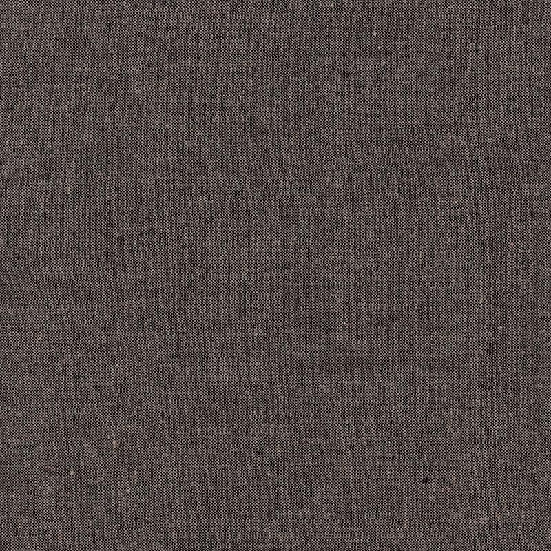 Essex Linen Yarn Dyed Expresso   E064-1136 linen cotton mix fabric