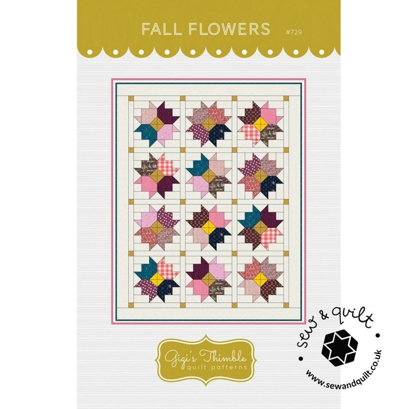 Fall-Flowers-Gigis-Thimble-quilt-pattern