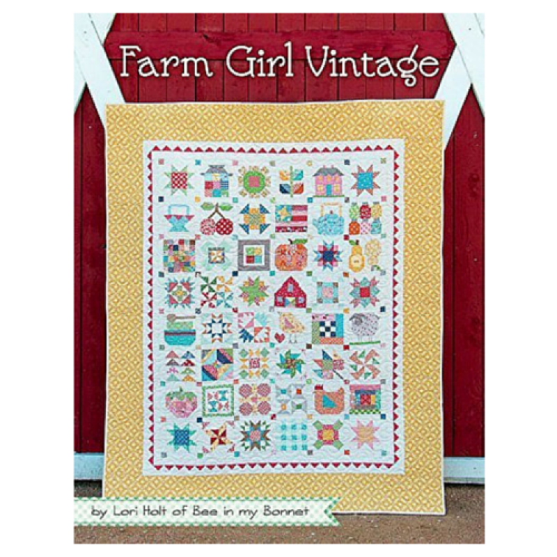 Farm Girl Vintage Book by Lori Holt Of Bee In My Bonnet