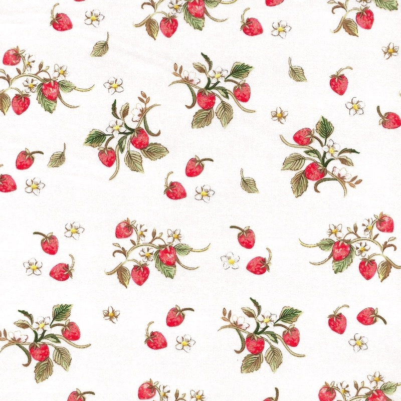 Farm Meadow Ivory Strawberries   52796-1
