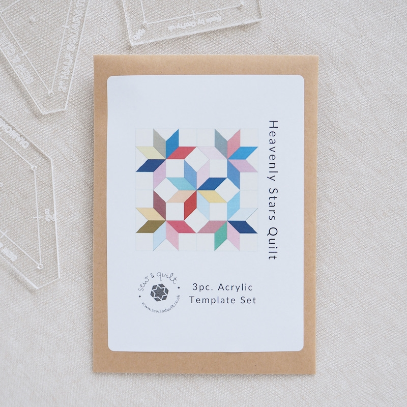 English paper Piecing acrylic templates