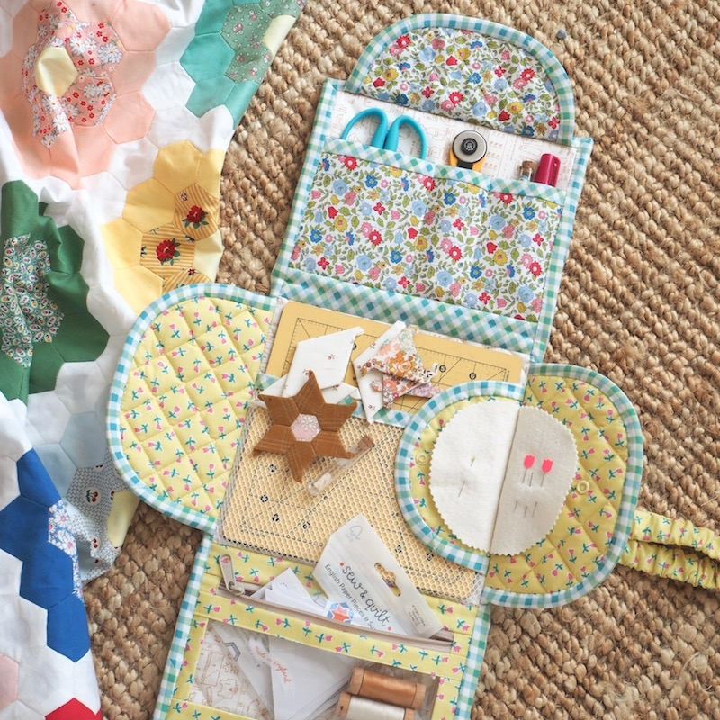 Jet Set Sewing Station kit by Jessie Fincham