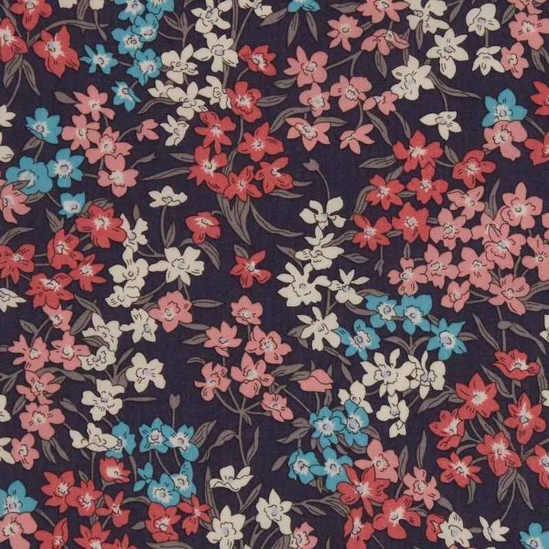 Liberty Sea Blossoms B Tana Lawn Cotton