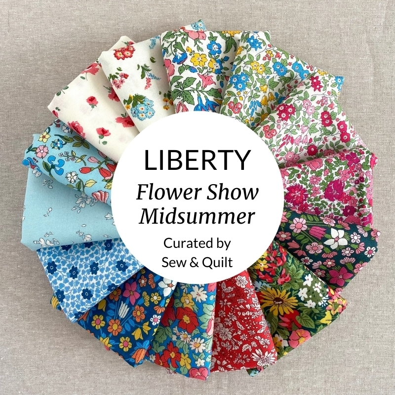Liberty Fabrics Flower Show Midsummer fabric Bundle