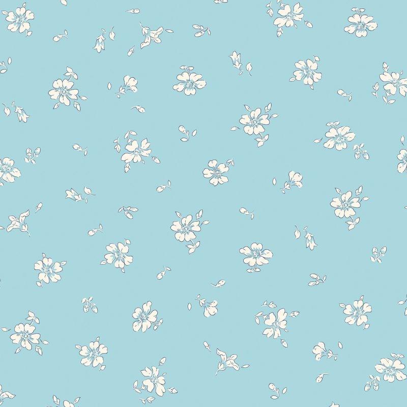 Liberty Fabrics Flower Show Midsummer, Field Rose