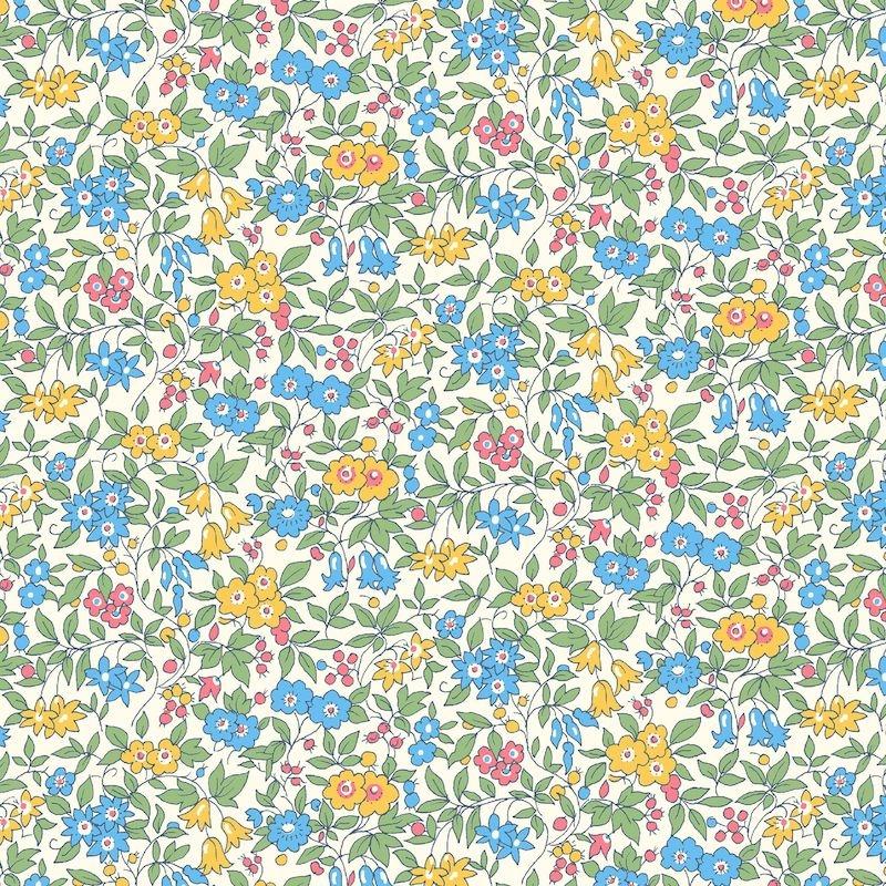 Liberty Fabrics Flower Show Midsummer, Forget Me Not Blossom