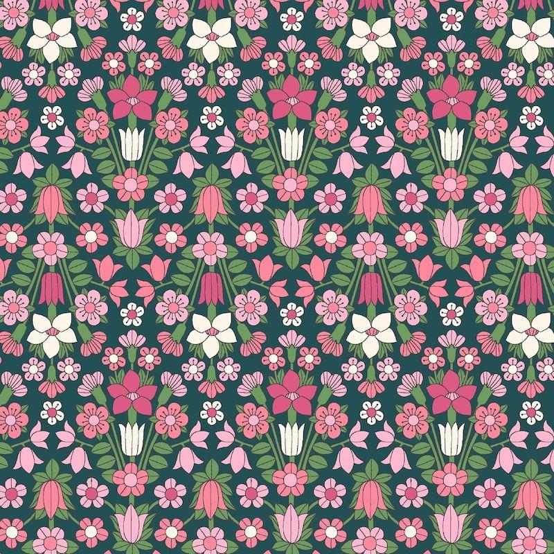 Liberty Fabrics Flower Show Midsummer, Hamstead Meadow