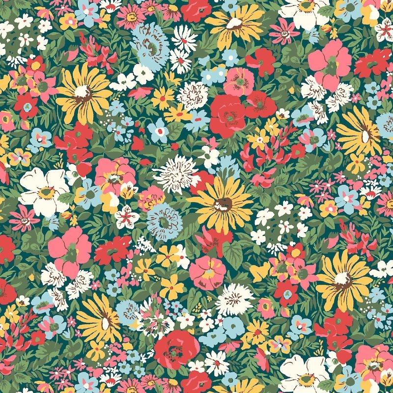 Liberty Fabrics Flower Show Midsummer, Malvern Meadow