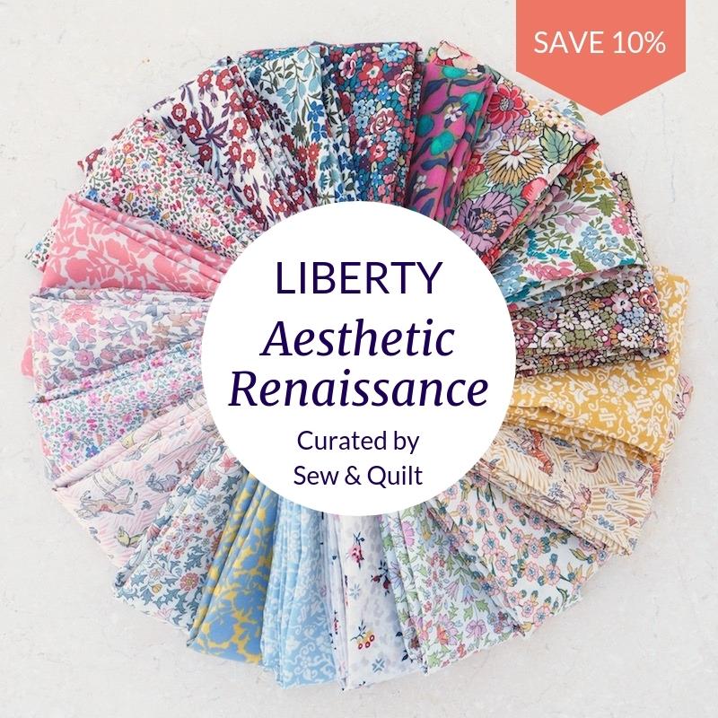 Liberty-aesthetic-Renaissance-fat-quarter-bundle-fabric