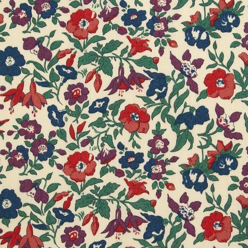 Liberty fabric Mamie C Organic Tana Lawn Cotton