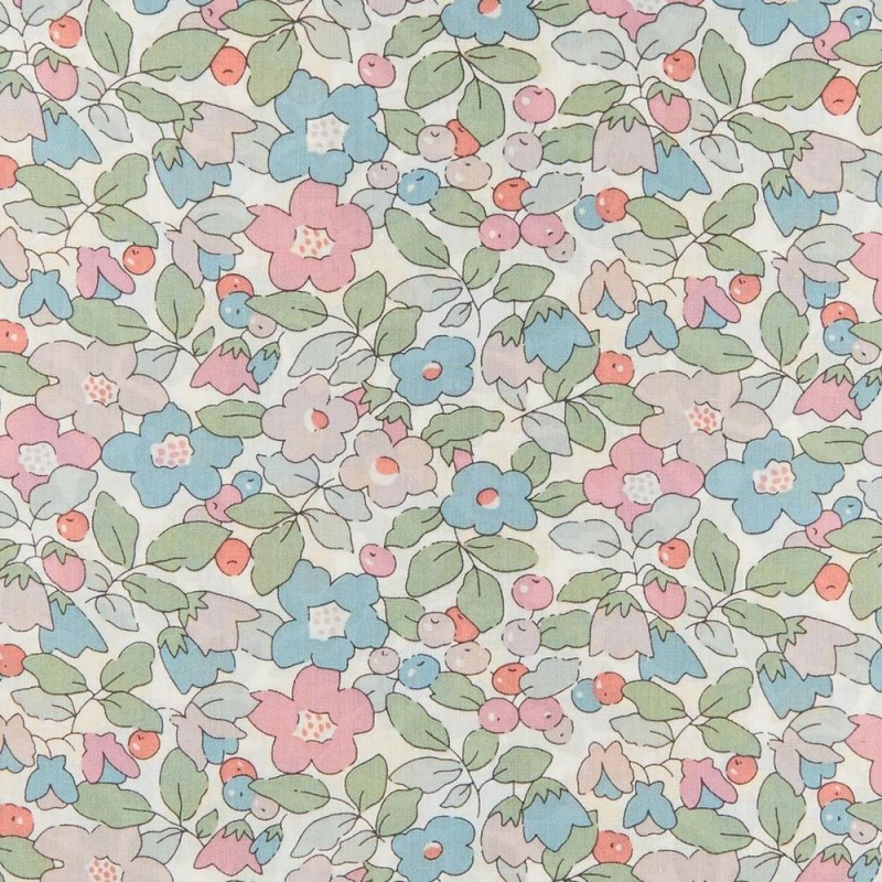 Liberty Betsy Berry A Tana Lawn Cotton