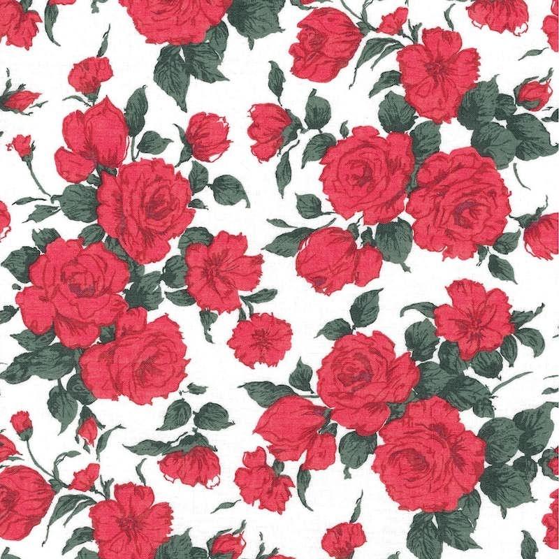 Liberty Carline Rose A Augusta Linen