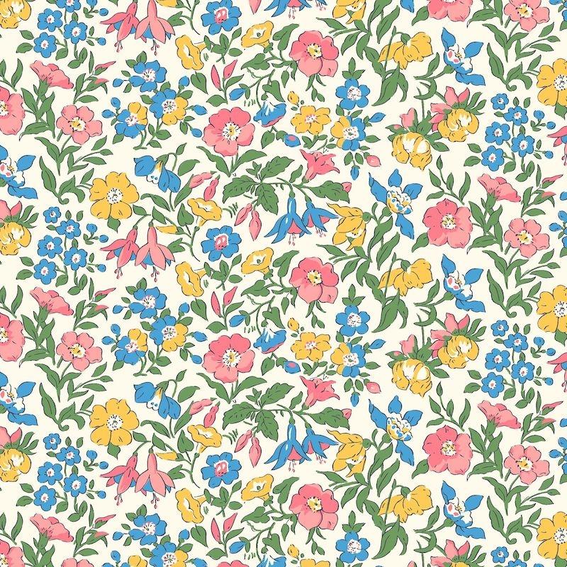 Liberty Fabrics Flower Show Midsummer, Mamie