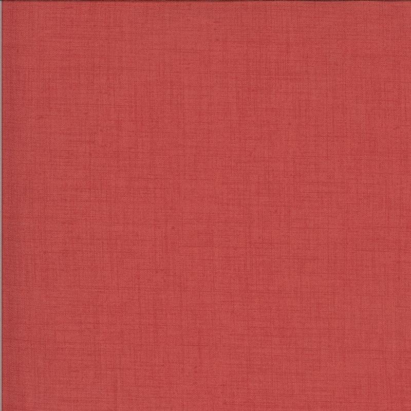 La Rose Rouge Red Linen Texture   13529-19