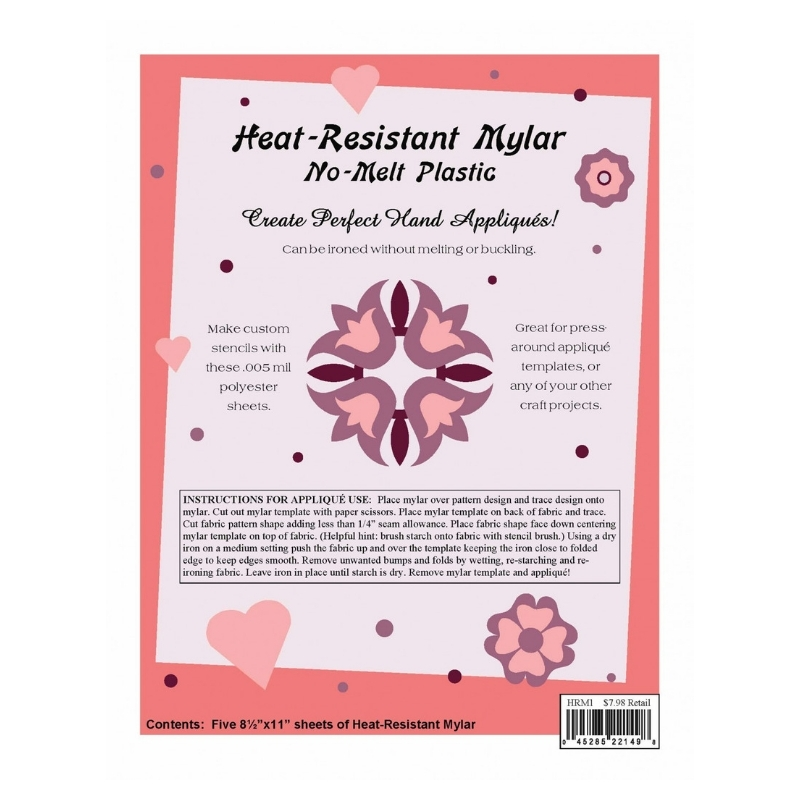 Mylar-Template-Plastic-quilting