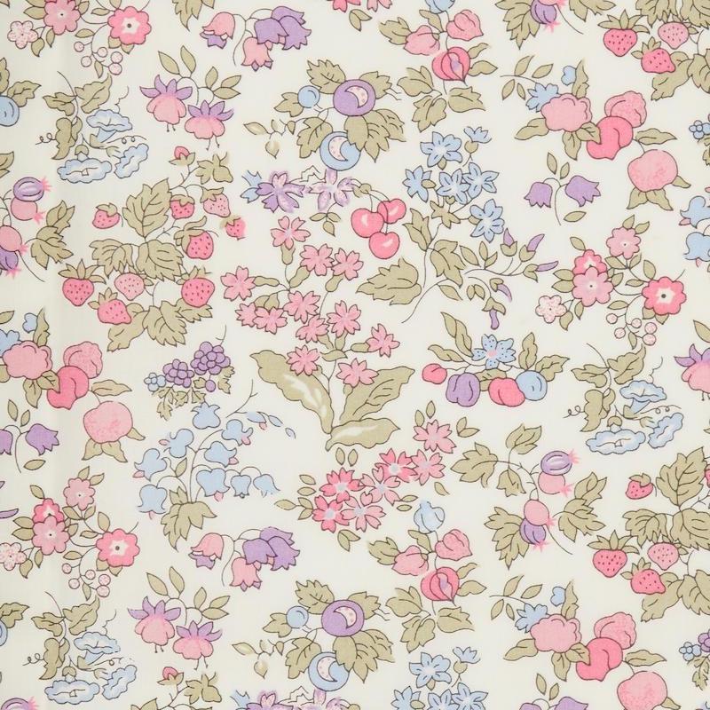Liberty fabric Nancy Ann A Organic Tana Lawn Cotton