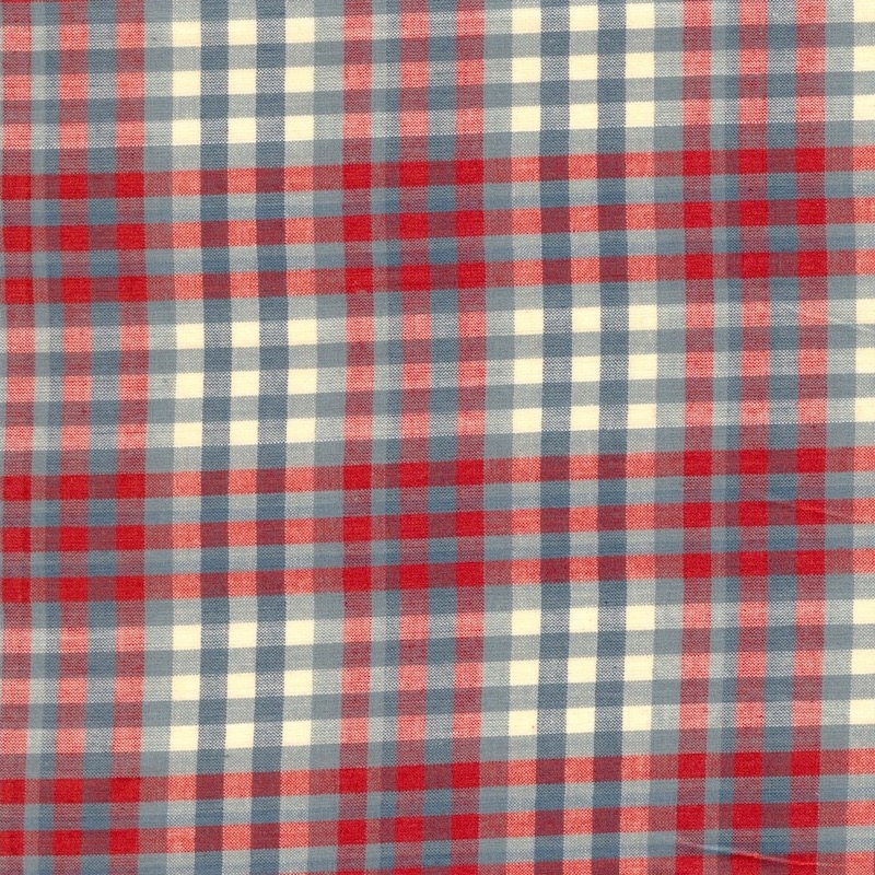 Northport Silky Wovens Blue and Red Plaid | 12215-24