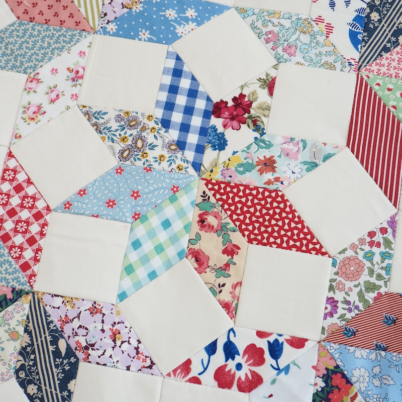 Heavenly Stars free English paper piecing pattern